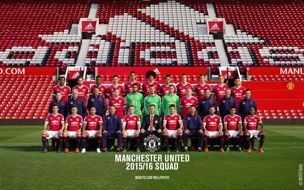 Squad 2015/16 - Official Manchester United Website