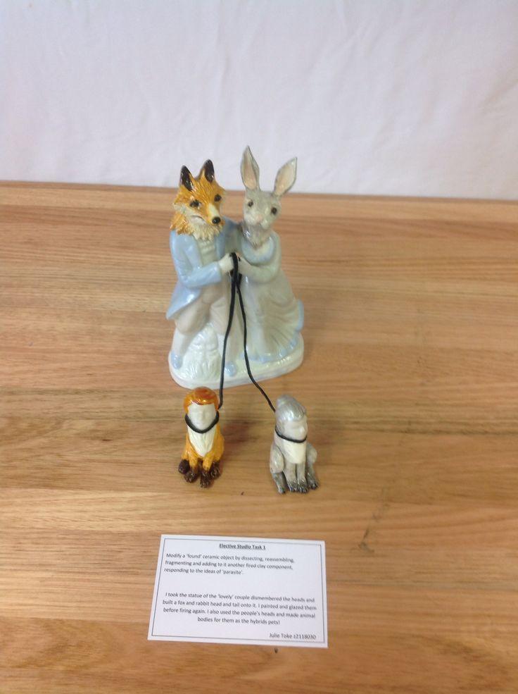 Ceramic hybrid re assemblage