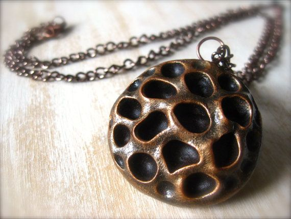 Seed Pod Necklace by OpiumStudios on Etsy, $15.00
