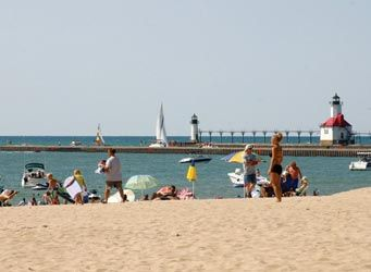 Silver Beach, St. Joseph..Parent's magazine rated top 10 beaches