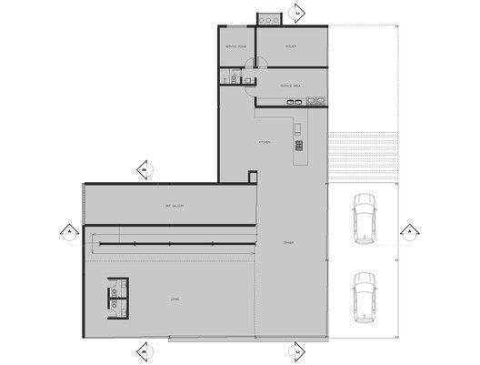 Nova Lima House,Plan