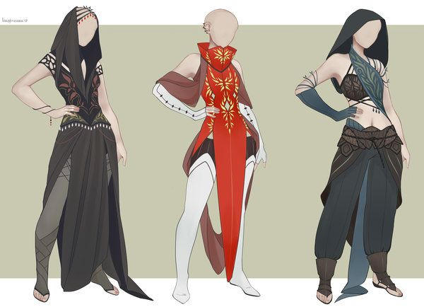 [CLOSED] Outfit Adopt 01/17 by larighne.deviantart.com on @DeviantArt