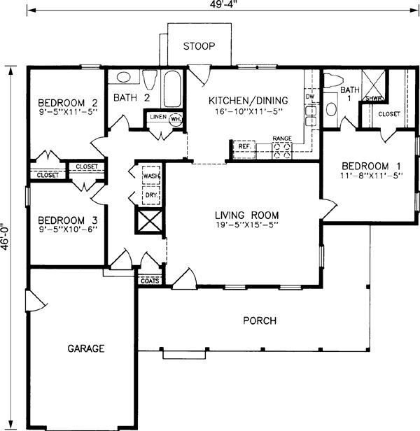 1000 images about l shape on pinterest house plans 3 for L shaped house plans with 3 car garage