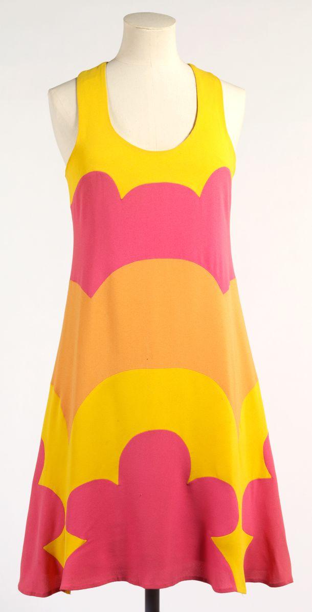 Cotton dress / John Kloss 1966 / Victoria and Albert Museum London