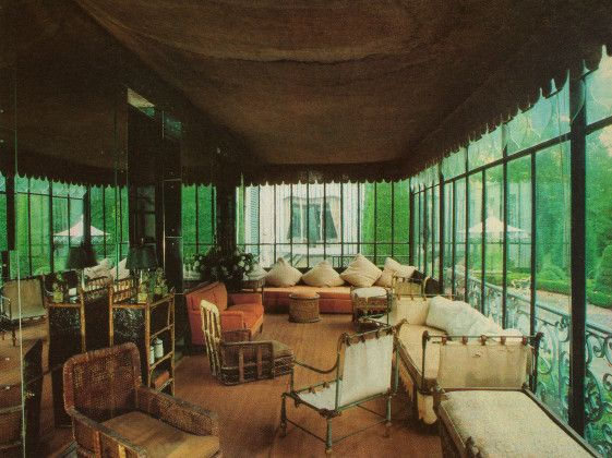 Wild Wolfe - Elsie de Wolfe's legendary Villa Trianon at Versailles outside Paris.