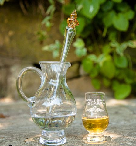Whisky Diluting Dropper, an original design hand-crafted in blown glass.