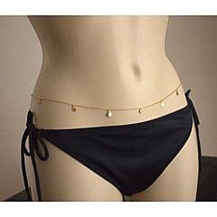 kang huan Europa e sexy cadeia corpo de biquíni super-flash cadeia de cintura da cadeia de lantejoulas corpo