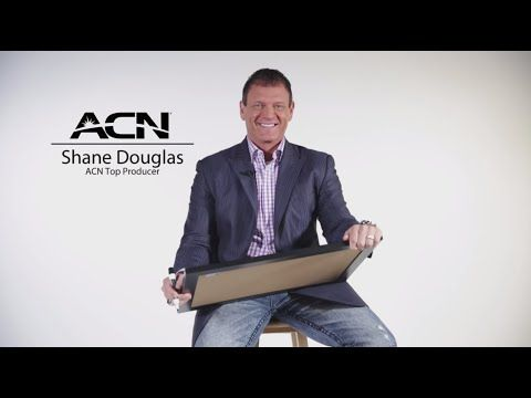 ACN has given Shane Douglas the opportunity of a life-time. Shane grew up in a small town of just 1,500 people. With hardwork and dedication, Shane was able to create a wonderful life for his family. Shane is living proof that anyone can become a success at ACN.