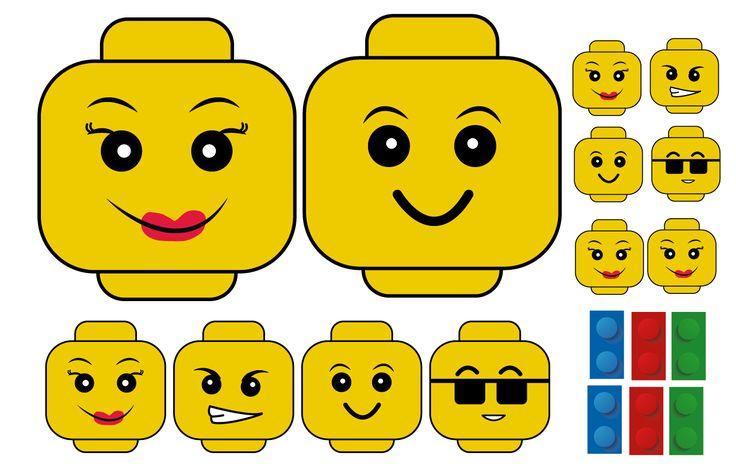Kit imprimible para Fiesta de cumpleaños Lego                                                                                                                                                     More