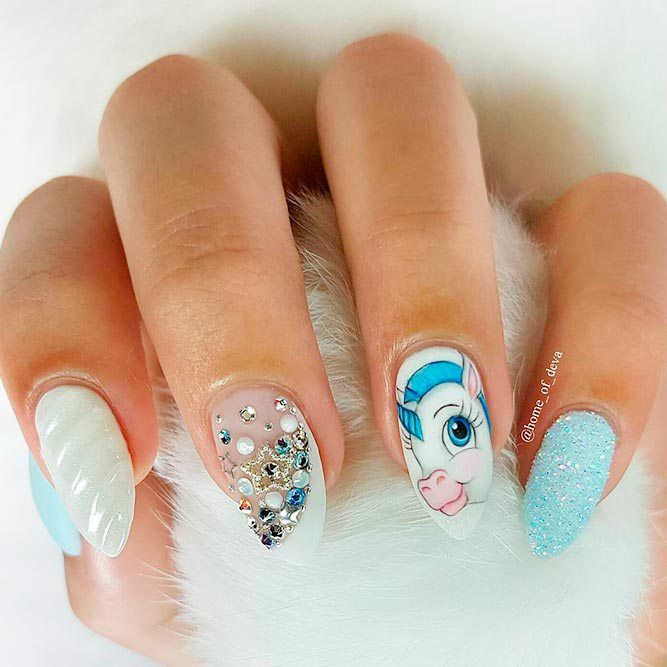 19+ Inspirational Unicorn Nail Designs 2019 – Nagel Ontwerp