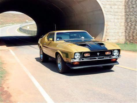 1972 Ford Mustang Mach 1 #americanmusclecarsmustang #americanmusclecarsford