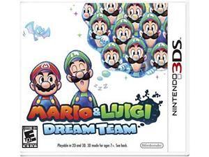 Mario & Luigi: Dream Team Nintendo 3DS Game Nintendo