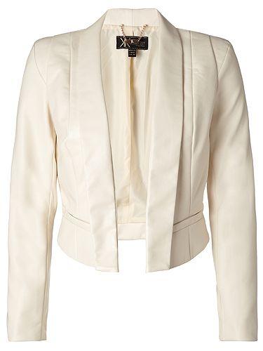 Kardashian Kollection for Lipsy: Cream tailored jacket