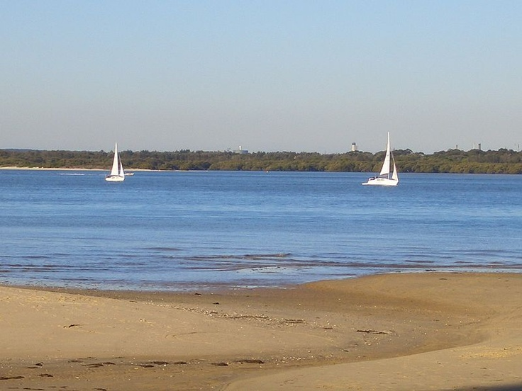 Georges River in Sandringham
