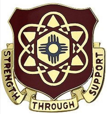 67th Maintenance Battalion Unit Crest (Strength Through Support)