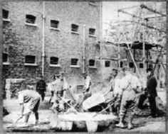 Prisoners working Pentonville Prison London