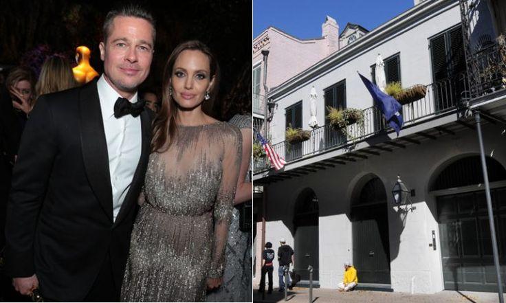 Tras separación Brad Pitt y Angelina Jolie venden su casa de Nueva Orleans (Foto) - http://www.notiexpresscolor.com/2016/10/30/tras-separacion-brad-pitt-y-angelina-jolie-venden-su-casa-de-nueva-orleans-foto/
