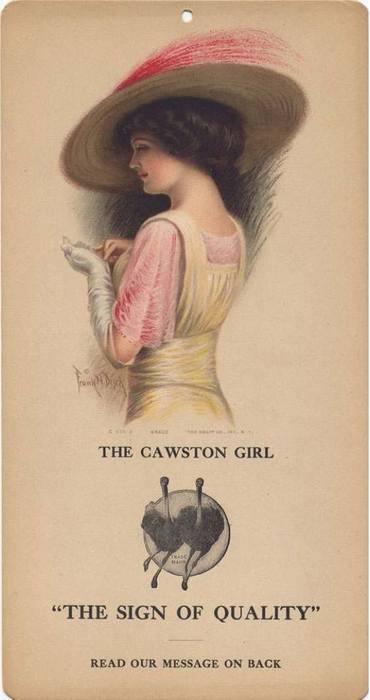 "Cawston Advertising Card: The Cawston Girl ""Grace"", c. 1914-1924: Adverti Cards, Cawston Ostriches, California Libraries, Cawston Advertising, Cawston Girls, Ostriches Farms, Advertising Cards, Vintage Printable, Girls Grace"