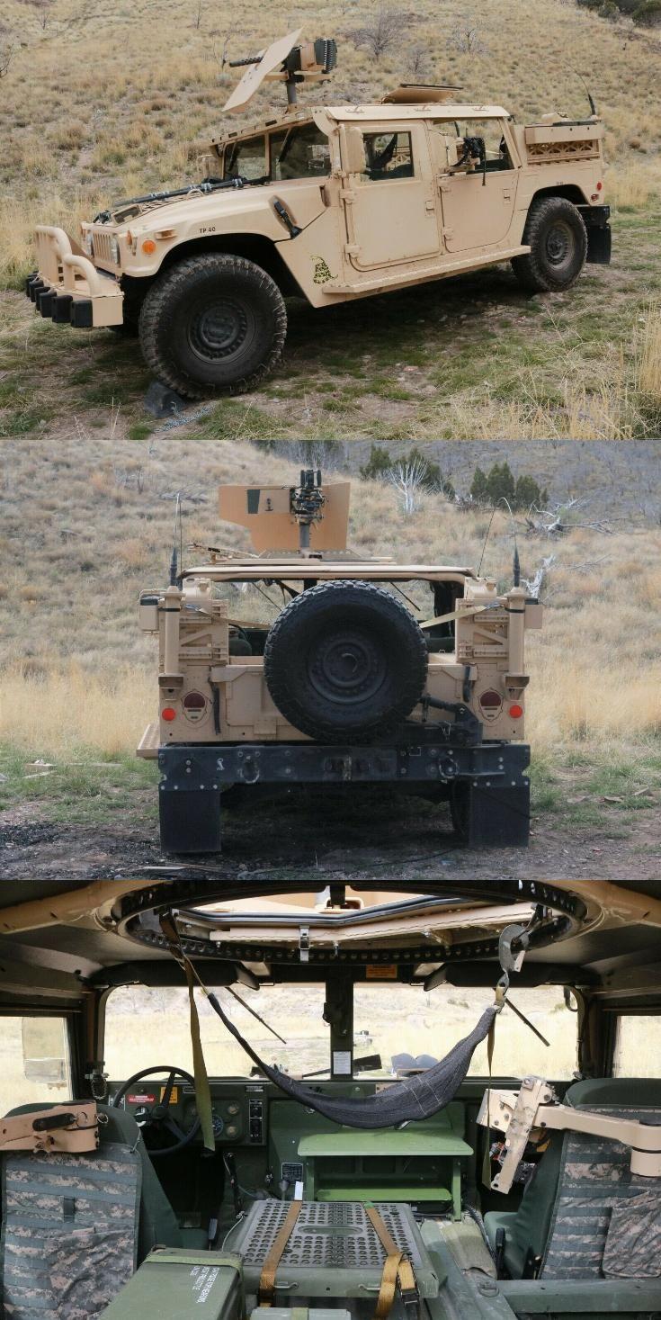 restored 2007 AM General Humvee GMV Hmmwv M1025 military