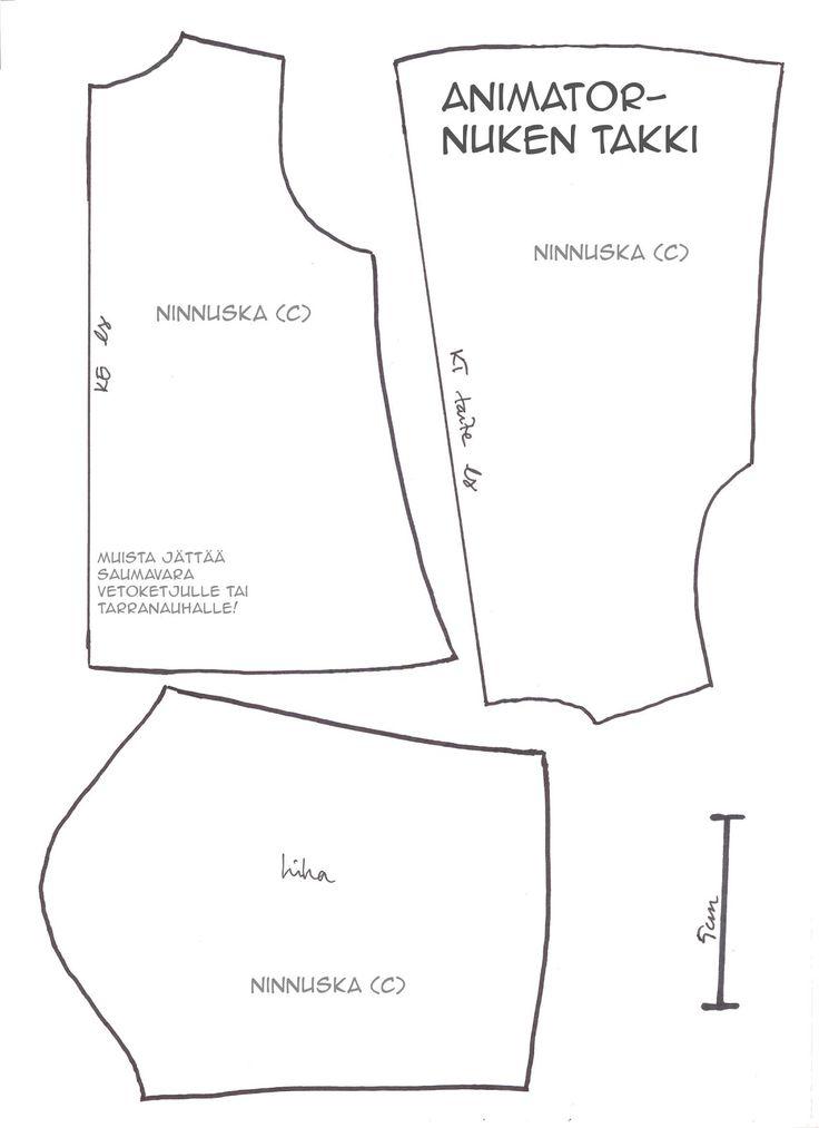 Ninnuska: Animator-doll clothes patterns and more ...