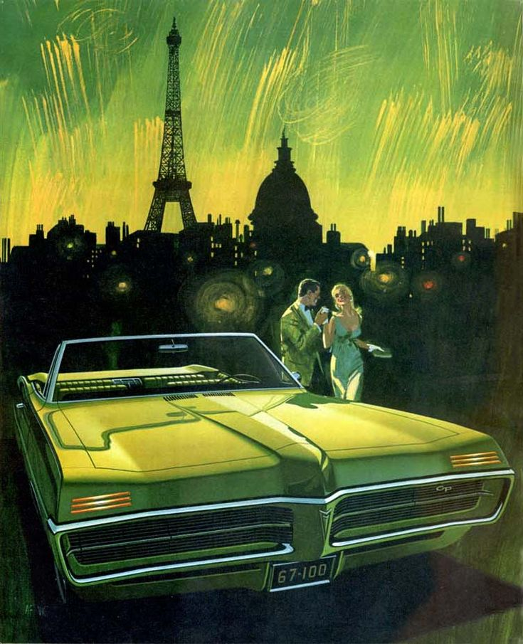 Fête de Paris (1967 Pontiac Grand Prix Convertible)