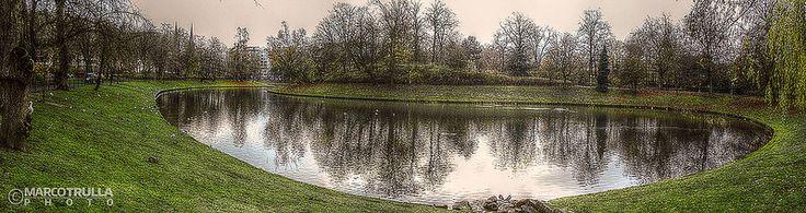 Winter Lake - Stadspark   #Antwerp