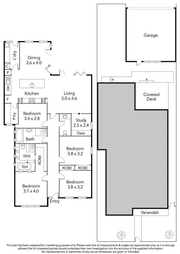 4 Reed Street, Spotswood, Vic 3015 - floorplan