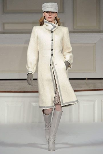 Oscar de la Renta I probably would not wear the hat, but the boots and coat are gorgeous.KS