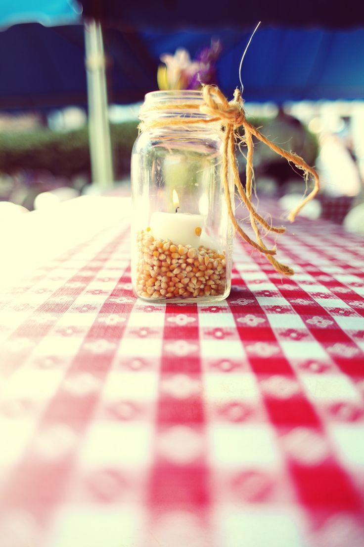 corny candle via weddingchicks.com
