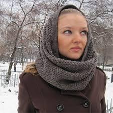 Картинки по запросу шарф снуд на голову