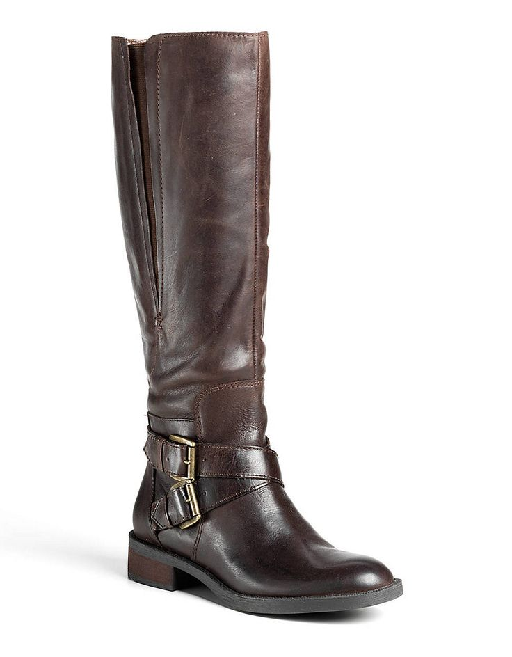 Sporty Leather Riding Boots | Lord and Taylor