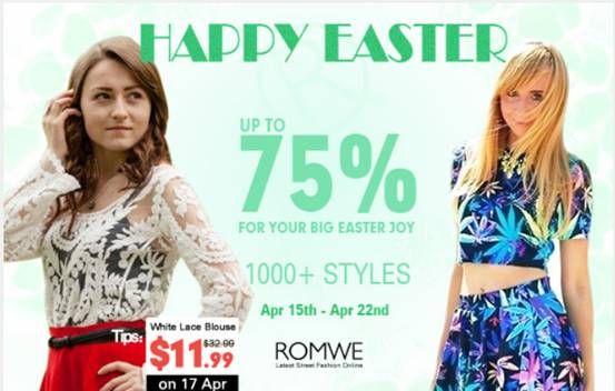 'Romwe' Happy Easter day http://marcelayz.wordpress.com/2014/04/16/romwe-happy-easter-day/