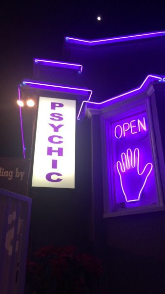 www.thepaletails.com Purple neon aesthetic. Psychic reading OPEN.