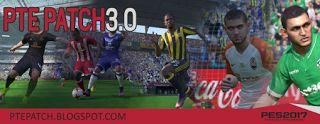 Download Patch PTE Pro Evolution Soccer 2017 3.0