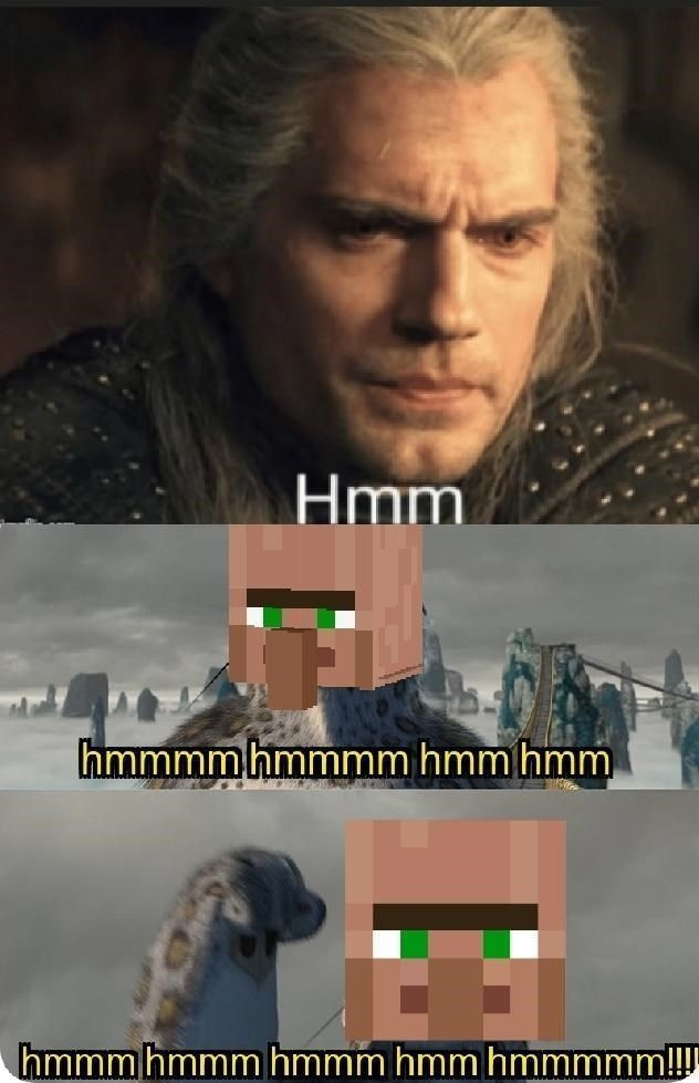 Geralt S Hmm Ushers In A New Witcher Meme In 2020 Memes Funny
