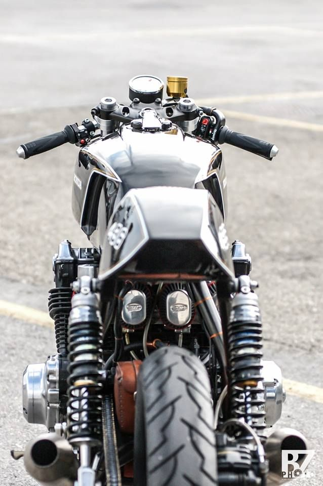 "caferacerdesign: "" Cafe Racer Design Source Honda CB750 @caferacerdesign """