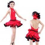 Kız çocuk tango ve salsa elbiseleri #tango #salsa #dans #tangosalsadresses