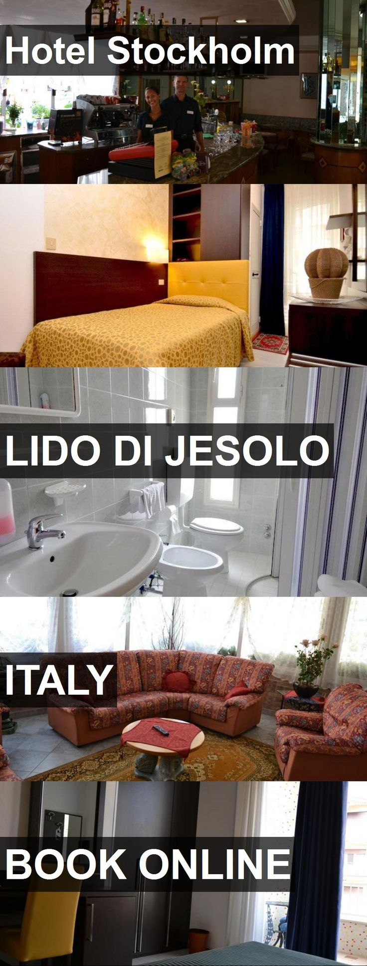 Hotel Stockholm in Lido di Jesolo, Italy. For more information, photos, reviews and best prices please follow the link. #Italy #LidodiJesolo #travel #vacation #hotel