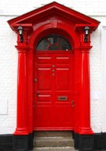 Feng Shui Front Door - RED