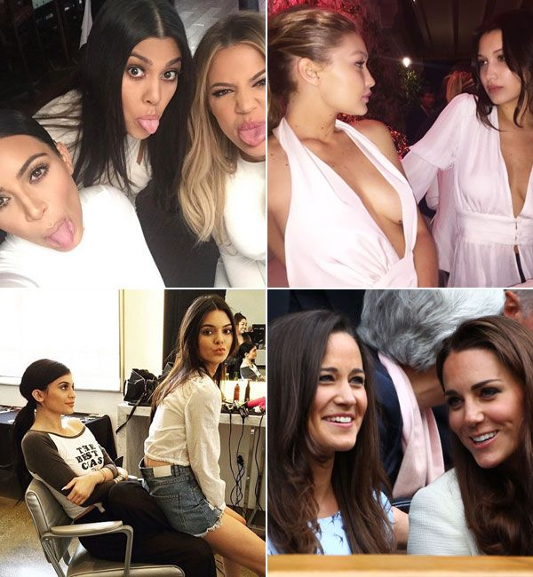 National Sisters' Day: Kardashians, Jenners & More Famous Celeb Siblings