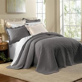 Grey Oversized Bedspread 118 Quot X122 Quot For King 99 Need