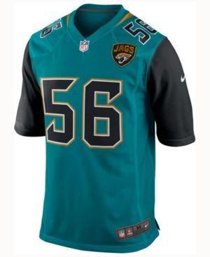 Nike Men's Dante Fowler Jr. Jacksonville Jaguars Game Jersey  - Black XL