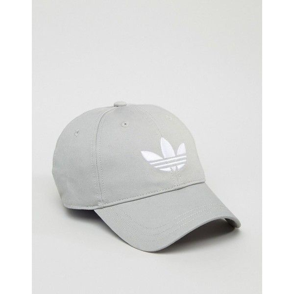 adidas Originals Trefoil Logo Snapback Cap ($18) ❤ liked on Polyvore featuring accessories, hats, crown cap hats, logo snapback hats, peaked cap, adidas snapback and logo hats
