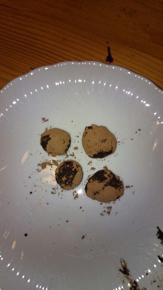 Cioccolatini senza grassi