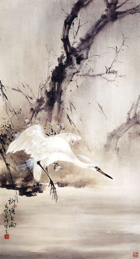 By Lingnan master, Gao Qi-feng 高奇峰 1889~1933