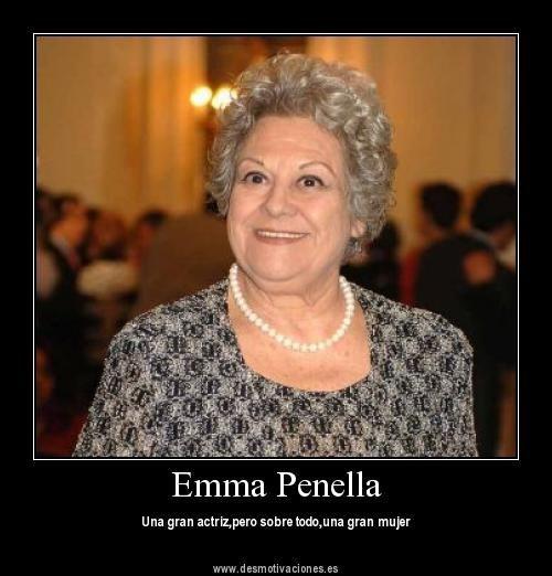 Emma Penella Actriz N En Madrid 1931 2007 Actrices E