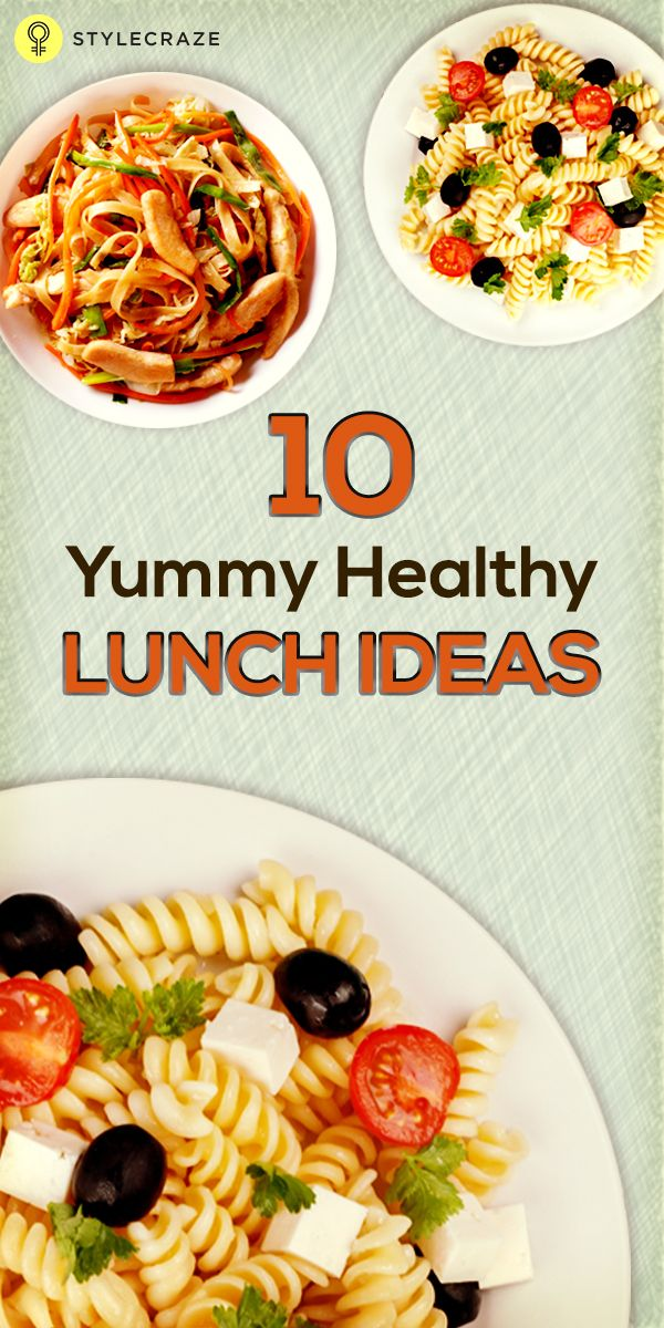 In this article, I am going to share the top 10 healthy lunch Ideas which are easy to prepare and tasty to eat. Good Healthy Lunch Ideas The top 10 healthy lunch ideas are as follows:  #lunchideas