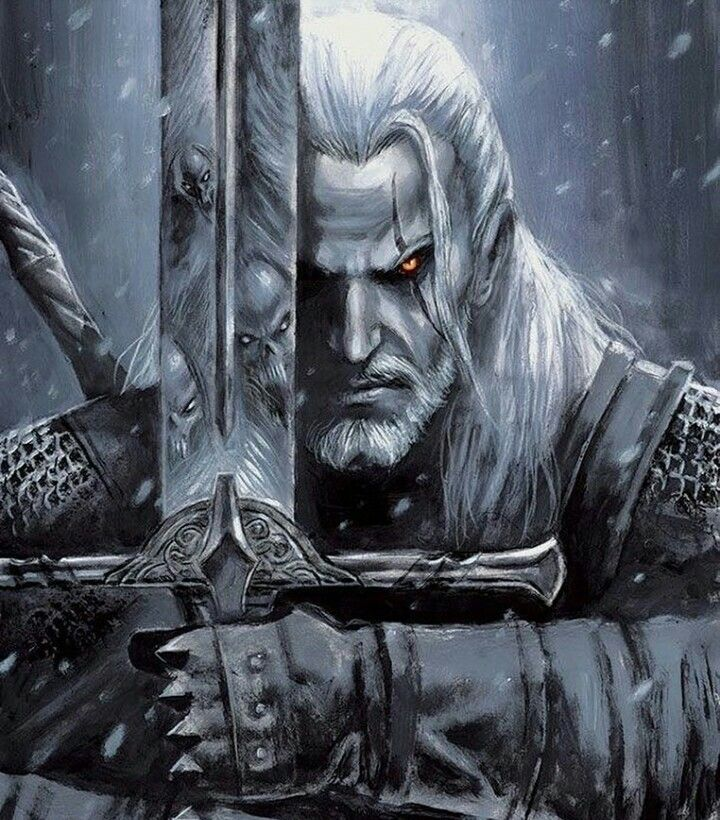 The Witcher Fan Art The Witcher Wild Hunt The Witcher Geralt