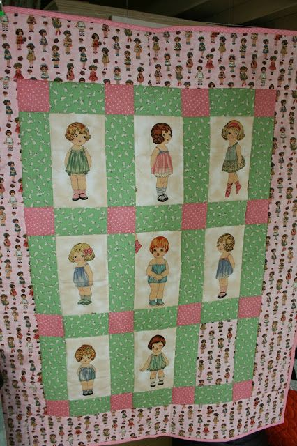 Paper Doll Quilt Quilt, The o jays and Paper