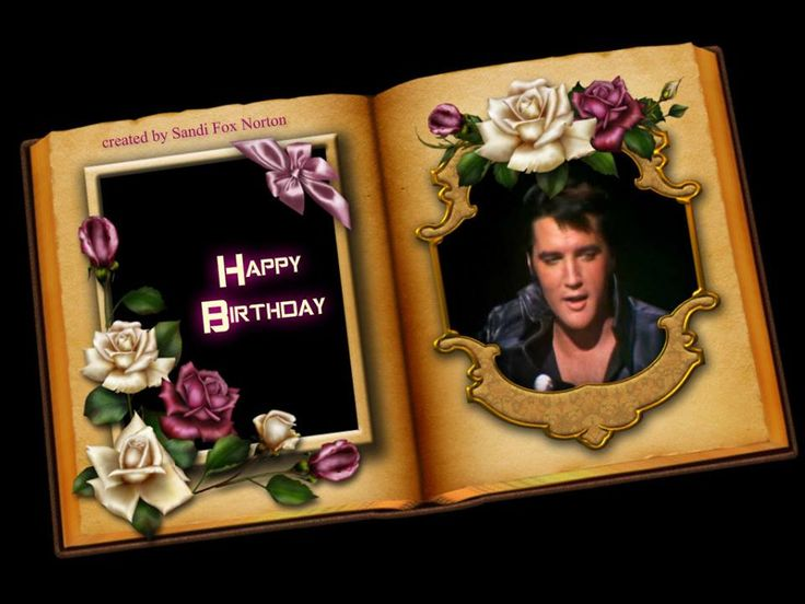 elvis presley birthday | Elvis Presley Virtual Birthday Cards